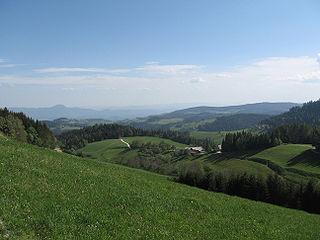 Pohorje mountain range