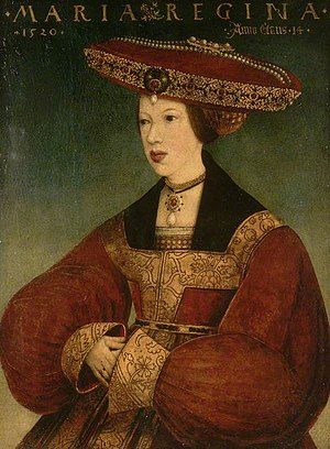 Mary of Hungary (governor of the Netherlands) - Queen Mary, by Hans Maler zu Schwaz, 1520