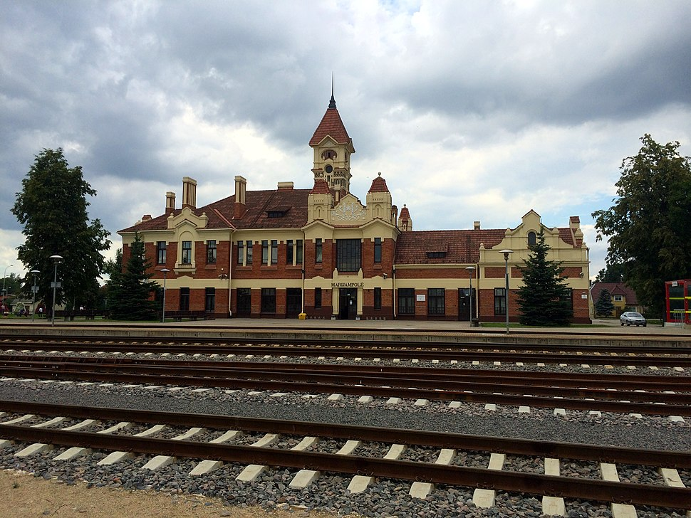 Marijampolės geležinkelio stotis - panoramio