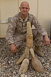 Marine leaves 'no rock unturned' creating deployment art 131124-M-ZB219-003.jpg