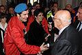 Mario Furlan, fondatore dei City Angels, incontra il Presidente della Repubblica, Giorgio Napolitano, al Quirinale.jpg
