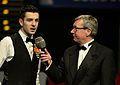 Mark Selby and Rolf Kalb at Snooker German Masters (DerHexer) 2015-02-08 03.jpg
