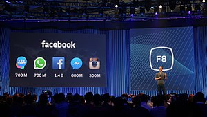 Facebook F8 - Users numbers updated for Facebook, Instagram, WhatsApp, Messenger, and Groups at F8 2015