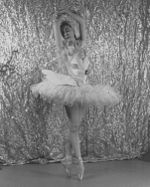 Alicia Markova en La Muerte del Cisne.