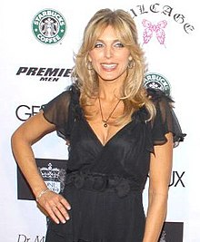 Marla Maples, la dua edzino de Donald Trump en 2007