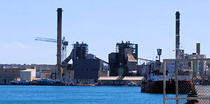 Marsa, Malta - Marsa Power Station (prior to being demolished in 2014)