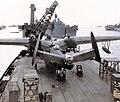 Martin PBM-5 Mariner of VPB-26 aboard USS Norton Sound (AV-11) off Saipan in April 1945 (80-G-K-16079).jpg