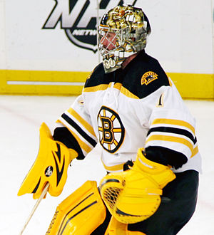 Marty Turco - Turco in 2012 during his brief tenure with the Boston Bruins.