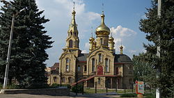 Our Lady of Kazan Orthodox Cathedral in Marinka