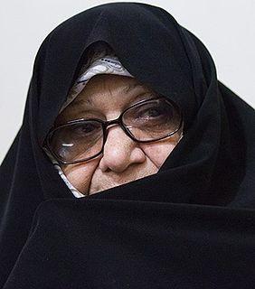 Marzieh Hadidchi Iranian politician