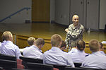 Master Sgt. Kevin Przewrocki gives a lesson on how to use discipline to be a good leader to Civil Air Patrol members in Tennessee.jpg