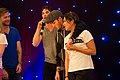 Matt Davis, Ian Somerhalder, Michael Trevino & Jenna Ushkowitz (9119353188).jpg