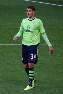 Matthew Lowton English footballer