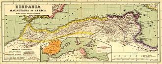 Mauretania Tingitana - Image: Mauretania et Numidia