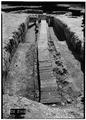 May 1958 DRAIN FROM NORTHEAST - Fort Frederica, Barracks (Ruins), Saint Simons Island, Glynn County, GA HABS GA,64-FRED,1-10.tif