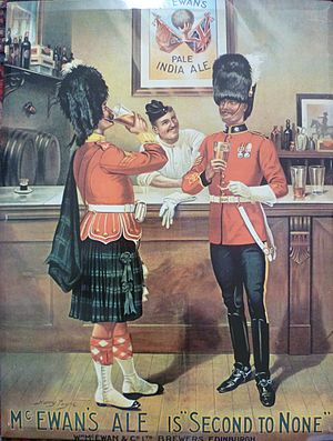 McEwan's - McEwan's advert from 1906