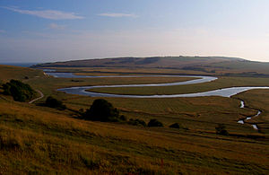 Meander - Meander of the River Cuckmere in Southern England