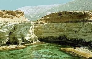 Derna, Libya - Image: Mediterranean rocky coast of Libya