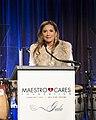 MeeraGandhi speaking MaestroCares2015.jpg