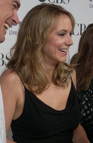 Megyn Price - Price and Patrick Warburton in 2008.