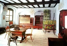 Melanchthon's room in Wittenberg (Source: Wikimedia)