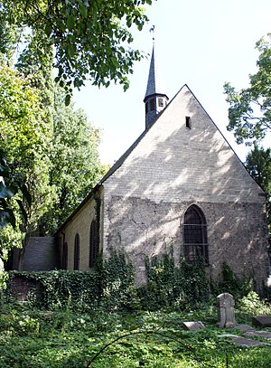 Melaten-Friedhof - Cemetery chapel