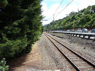 Melling Branch - The Melling Branch runs beside Western Hutt Road (State Highway 2) for its entire length.