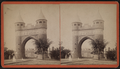Memorial Arch, Hartford, Conn, from Robert N. Dennis collection of stereoscopic views.png