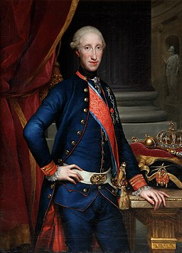 Mengs - Ferdinand IV of Naples, Royal Palace of Madrid