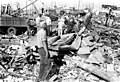 Mennonite Disaster Service clean up after the famous Udall, Kansas, tornado of May 25, 1955 (8067771707).jpg