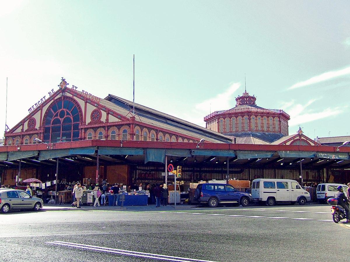 Resultat d'imatges de inauguració mercat sant antoni