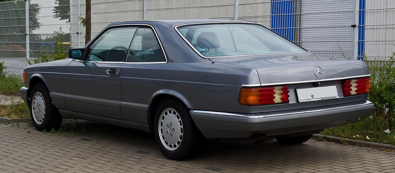 Datei mercedes benz 500 sec c 126 facelift for Mercedes benz c 500