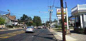 Mercerville, New Jersey - The Five Points intersection