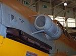 Messerschmitt Bf109 G-2 Trop, air filter and exhaust detail, RAF Museum, Cosford. (33095349933).jpg