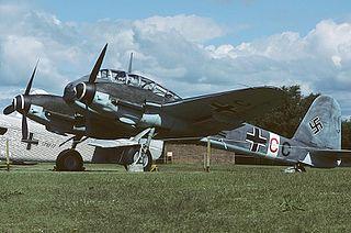Messerschmitt Me 410 Hornisse German fighter-bomber