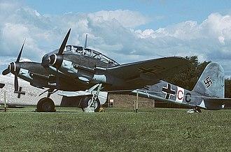 Messerschmitt Me 410 - Me 410 A-1/U2, RAF Museum Cosford, 1985