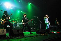 Flotsam and Jetsam beim Metalmania Festival 2008 in Polen