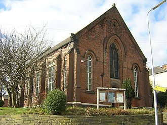 Boothstown - Image: Methodist Chapel, Boothstown geograph.org.uk 30980