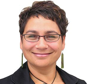English: Stock Photo of Metiria Turei.