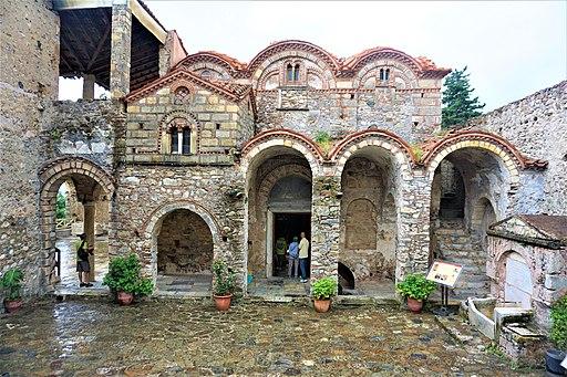 Metropolis of Mystra - Courtyard