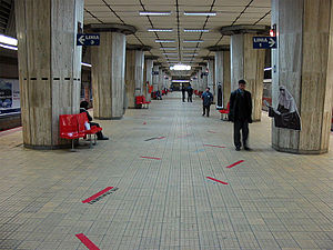 Eroilor metro station - metro station 2007