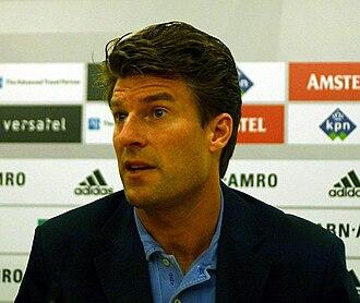 Sport in Denmark - Michael Laudrup, named the best Danish footballer ever by the Danish Football Association