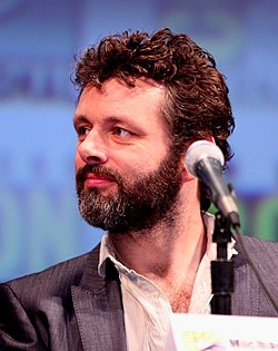 Michael Sheen on the Tron Legacy panel at the 2010 San Diego Comic Con.jpg
