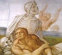 Michelangelo, giudizio universale, dettagli 30.jpg