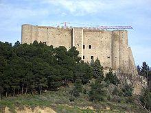 Il castello del Malconsiglio di Miglionico.