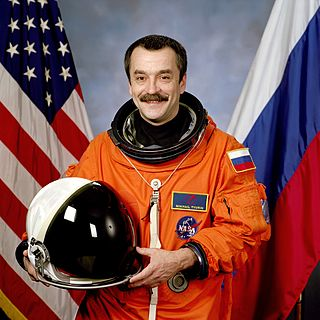 Mikhail Tyurin Russian cosmonaut