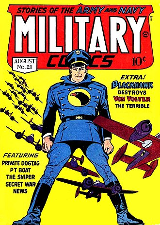 Quality Comics - Image: Military Comics No 21