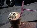 Milkshake med banan, kaffe og chokolade.jpg