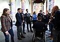 Minister-president Rutte tijdens de ontvangstceremonie van de Nederlandse paralympiërs in de Grote Kerk in Den Haag. (13268397004).jpg