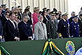 Ministro da Defesa, Celso Amorim, participa de solenidade do Dia do Soldado ao lado dos comandantes militares (7871976754).jpg